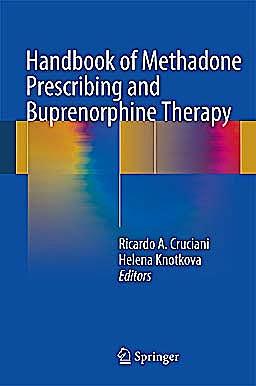 Portada del libro 9781461469735 Handbook of Methadone Prescribing and Buprenorphine Therapy (Hardcover)