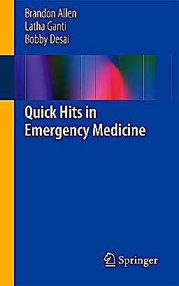 Portada del libro 9781461470366 Quick Hits in Emergency Medicine
