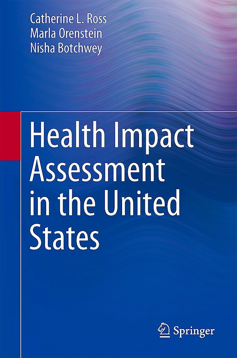 Portada del libro 9781461473022 Health Impact Assessment in the United States