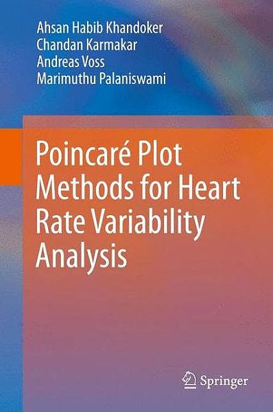 Portada del libro 9781461473749 Poincare Plot Methods for Heart Rate Variability Analysis (Hardcover)