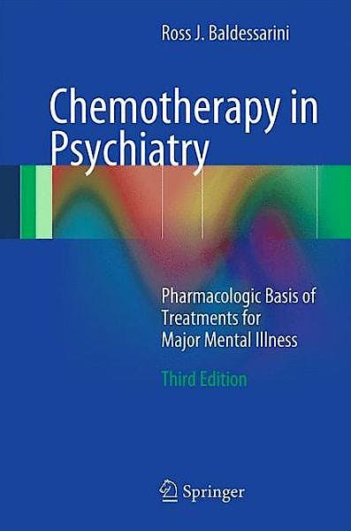 Portada del libro 9781461479260 Chemotherapy in Psychiatry. Pharmacologic Basis of Treatments for Major Mental Illness (Softcover)