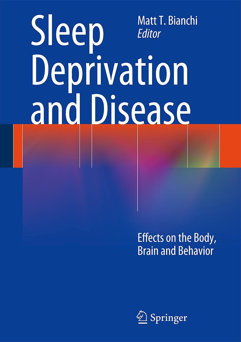 Portada del libro 9781461490869 Sleep Deprivation and Disease. Effects on the Body, Brain and Behavior