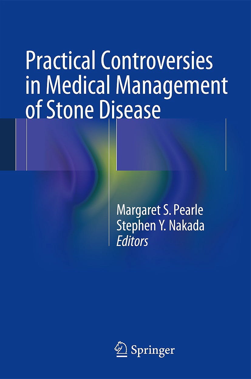 Portada del libro 9781461495741 Practical Controversies in Medical Management of Stone Disease