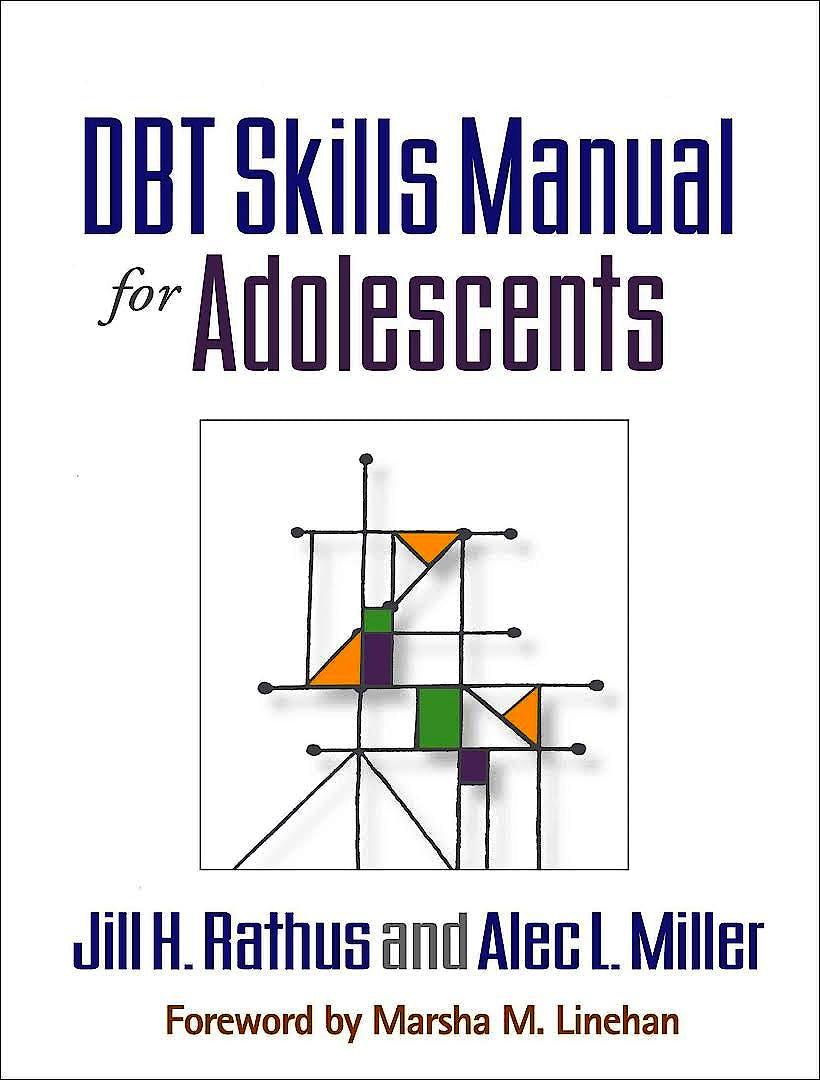 Portada del libro 9781462515356 Dbt® Skills Manual for Adolescents