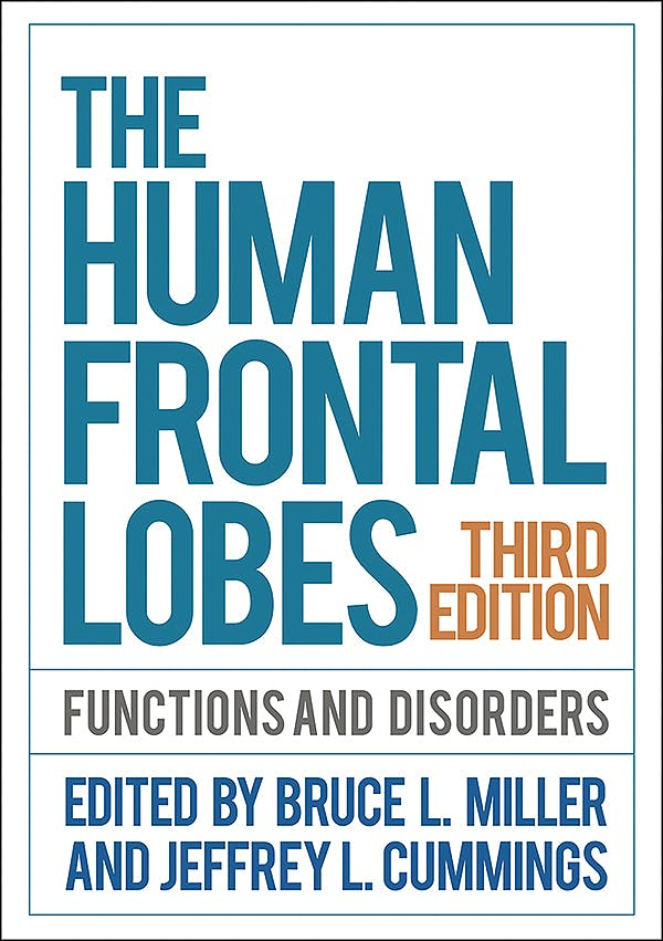 Portada del libro 9781462531837 The Human Frontal Lobes. Functions and Disorders