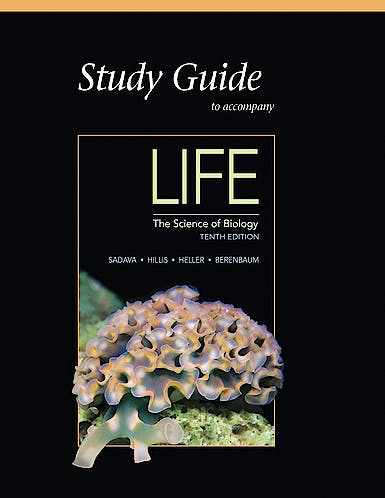 Portada del libro 9781464123658 Study Guide for Life. The Science of Biology