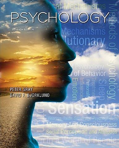 Portada del libro 9781464141959 Psychology