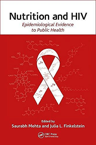 Portada del libro 9781466585812 Nutrition and HIV. Epidemiological Evidence to Public Health