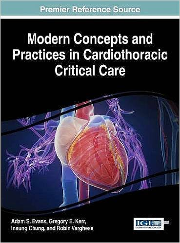 Portada del libro 9781466686038 Modern Concepts and Practices in Cardiothoracic Critical Care