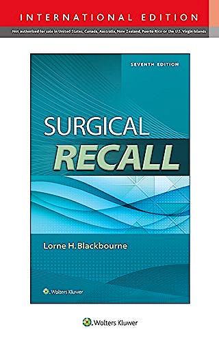 Portada del libro 9781469855752 Surgical Recall (International Edition) + Online Access