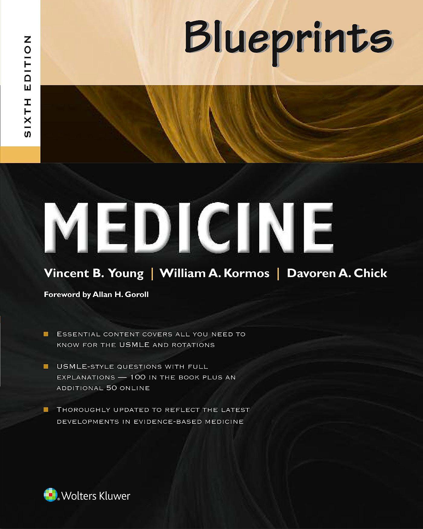 Portada del libro 9781469864150 Blueprints Medicine