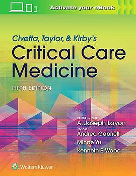 Portada del libro 9781469889849 Civetta, Taylor and Kirby's Critical Care