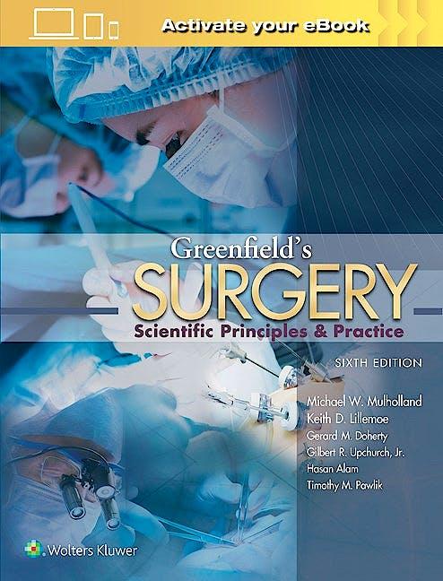 Portada del libro 9781469890012 Greenfield's Surgery. Scientific Principles and Practice