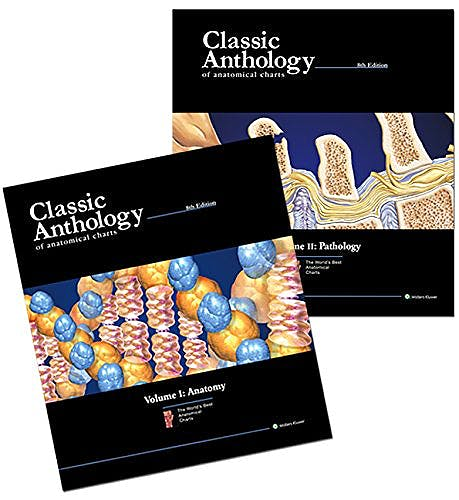 Portada del libro 9781469899459 Classic Anthology of Anatomical Charts Book