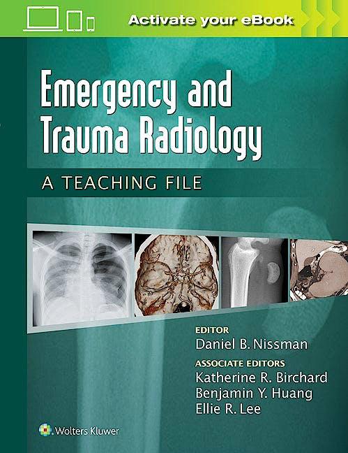 Portada del libro 9781469899480 Emergency and Trauma Radiology. A Teaching File