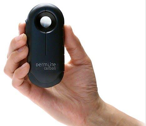 Dermatoscopio Dermlite Carbon