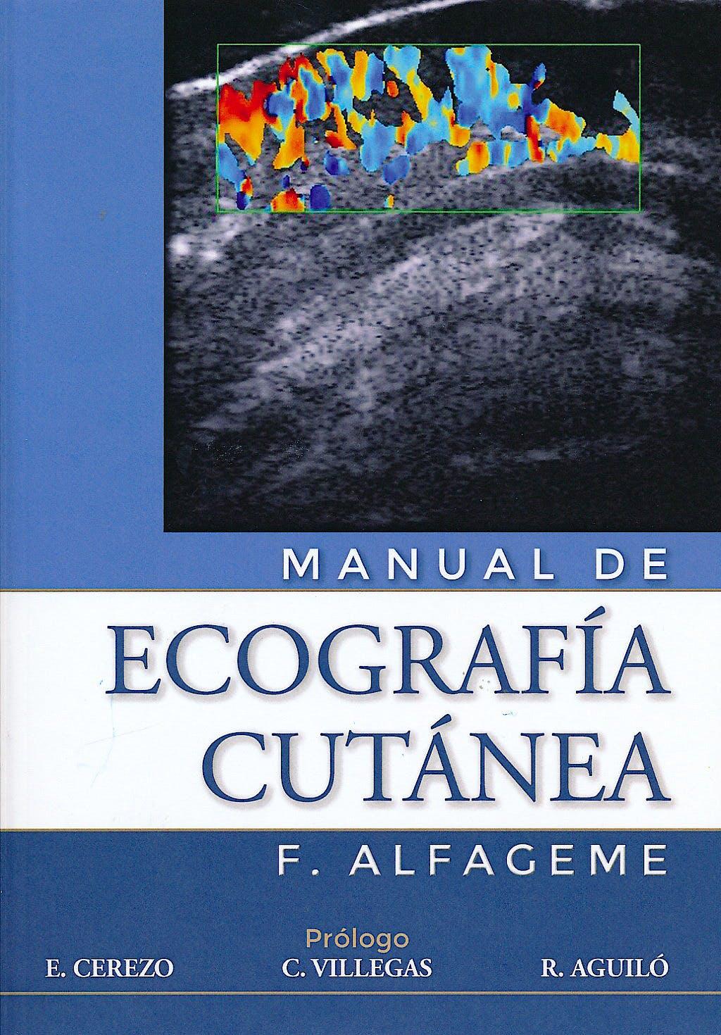 Portada del libro 9781480262706 Manual de Ecografía Cutanea