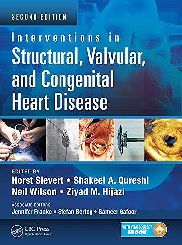 Portada del libro 9781482215632 Interventions in Structural, Valvular and Congenital Heart Disease