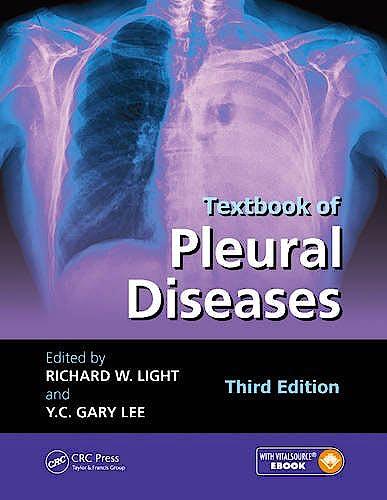 Portada del libro 9781482222500 Textbook of Pleural Diseases