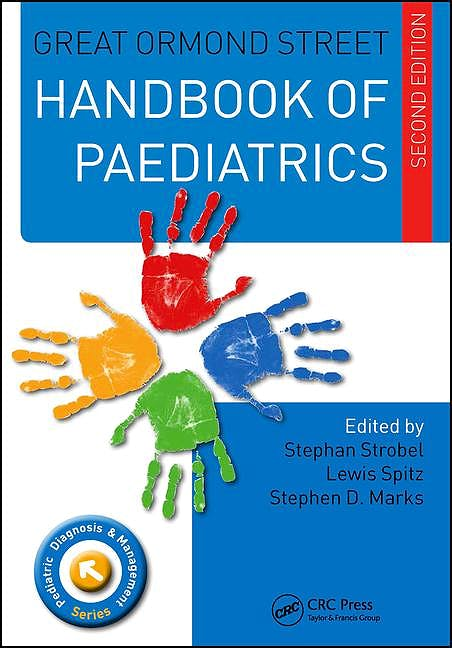 Portada del libro 9781482222791 Great Ormond Street Handbook of Paediatrics
