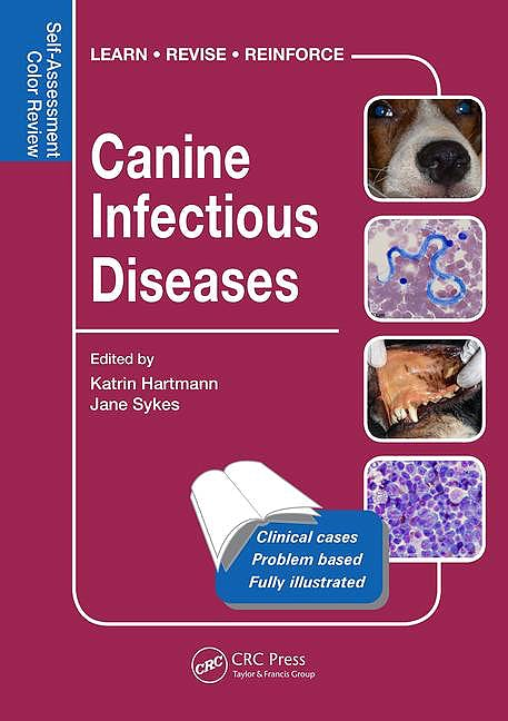 Portada del libro 9781482225150 Canine Infectious Diseases. Self-Assessment Color Review
