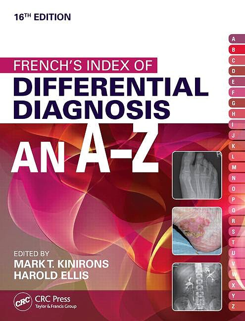 Portada del libro 9781482230703 French's Index of Differential Diagnosis an A-Z