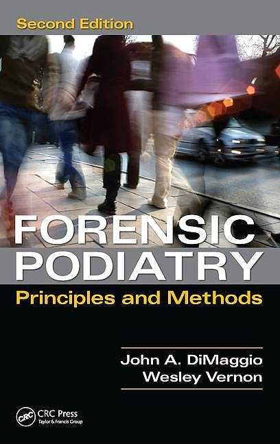 Portada del libro 9781482235135 Forensic Podiatry. Principles and Methods