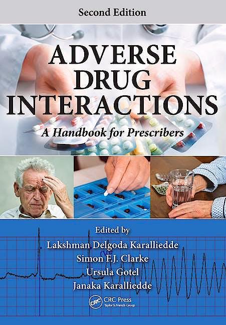 Portada del libro 9781482236217 Adverse Drug Interactions: A Handbook for Prescribers