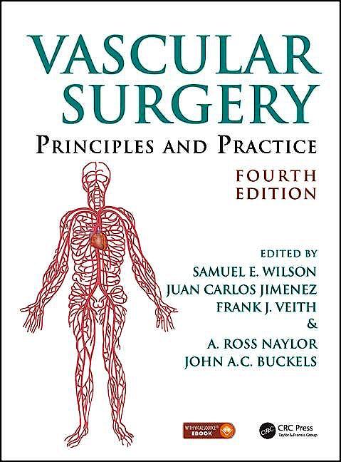 Portada del libro 9781482239454 Vascular Surgery. Principles and Practice (Book + Ebook)