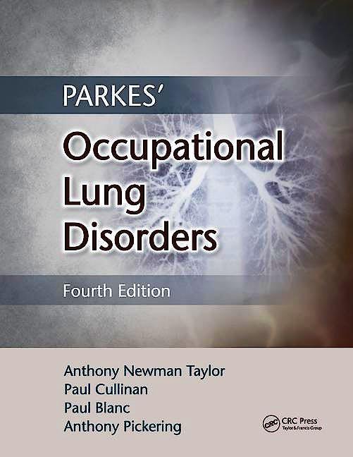 Portada del libro 9781482240702 Parkes' Occupational Lung Disorders (Book + Ebook)