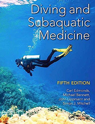 Portada del libro 9781482260120 Diving and Subaquatic Medicine
