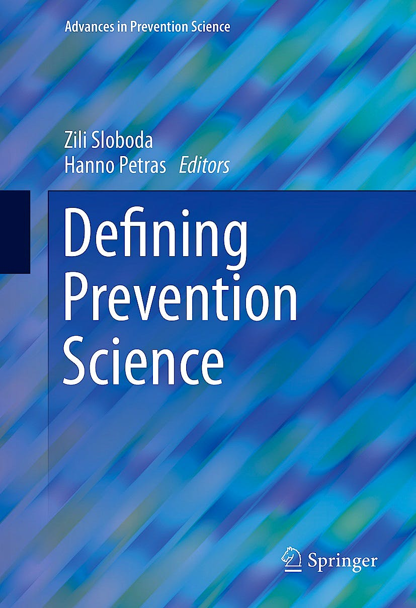 Portada del libro 9781489974235 Defining Prevention Science (Advances in Prevention Science)