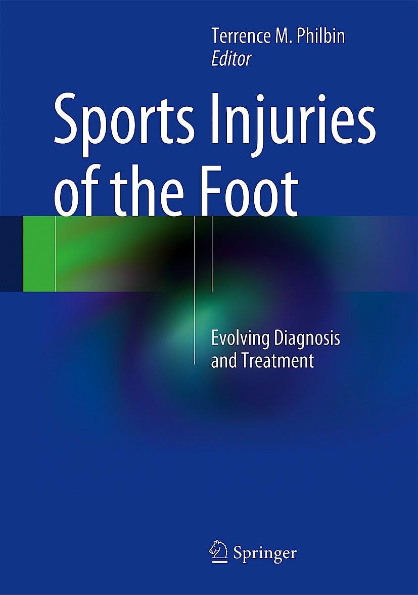Portada del libro 9781489974266 Sports Injuries of the Foot. Evolving Diagnosis and Treatment