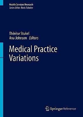 Portada del libro 9781489976024 Medical Practice Variations (Health Services Research)