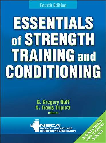 Portada del libro 9781492501626 Essentials of Strength Training and Conditioning