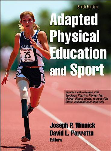 Portada del libro 9781492511533 Adapted Physical Education and Sport + Online Access