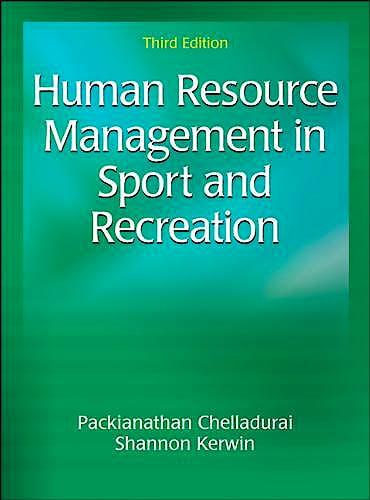 Portada del libro 9781492535850 Human Resource Management in Sport and Recreation