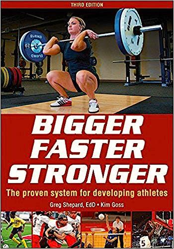 Portada del libro 9781492545811 Bigger Faster Stronger