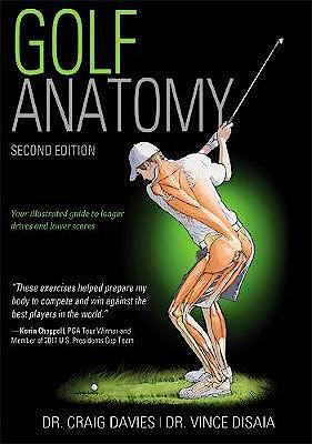 Portada del libro 9781492548423 Golf Anatomy