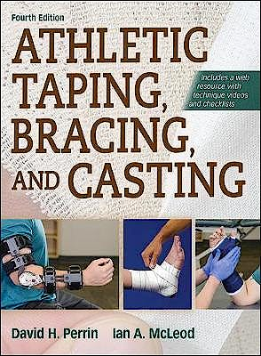 Portada del libro 9781492554905 Athletic Taping, Bracing, and Casting + Web Resource