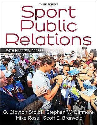 Portada del libro 9781492589389 Sport Public Relations