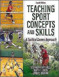 Portada del libro 9781492590484 Teaching Sport Concepts and Skills. A Tactical Games Approach