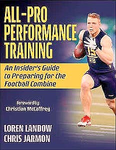 Portada del libro 9781492592624 All-Pro Performance Training. An Insider's Guide to Preparing for the Football Combine