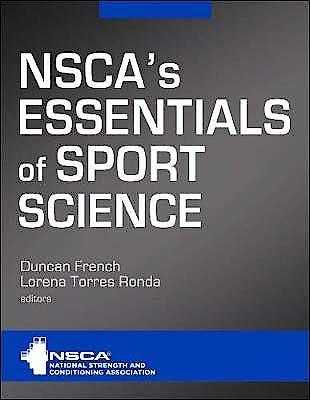 Portada del libro 9781492593355 NSCA's Essentials of Sport Science