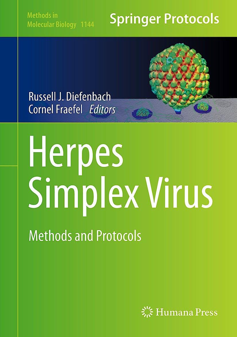 Portada del libro 9781493904273 Herpes Simplex Virus. Methods and Protocols (Methods in Molecular Biology, Vol. 1144)