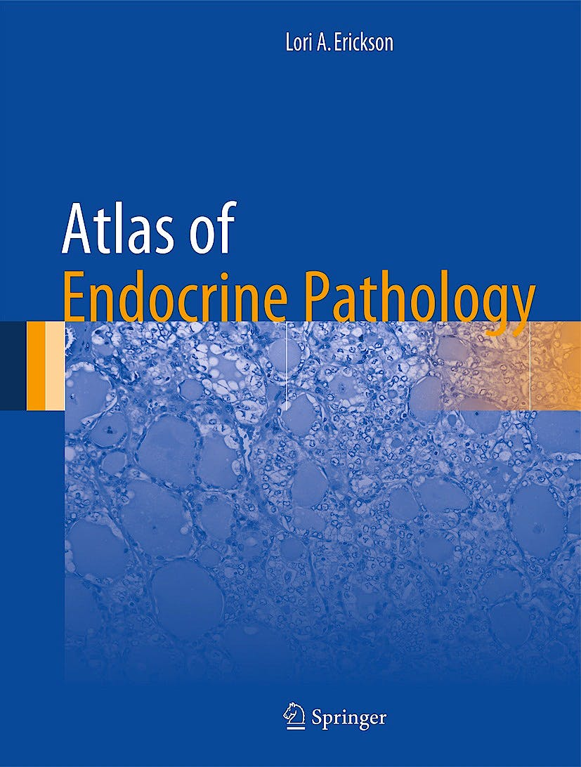 Portada del libro 9781493904426 Atlas of Endocrine Pathology