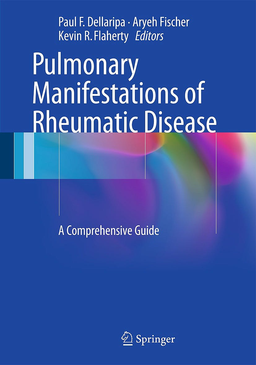 Portada del libro 9781493907694 Pulmonary Manifestations of Rheumatic Disease. a Comprehensive Guide