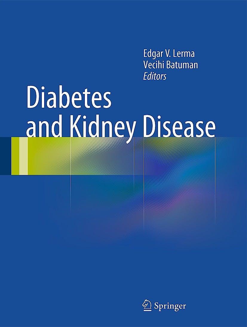 Portada del libro 9781493907922 Diabetes and Kidney Disease