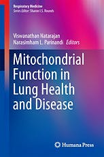 Portada del libro 9781493908288 Mitochondrial Function in Lung Health and Disease (Respiratory Medicine, Vol. 15)