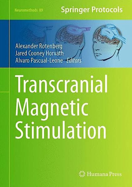 Portada del libro 9781493908783 Transcranial Magnetic Stimulation (Neuromethods, Vol. 89)